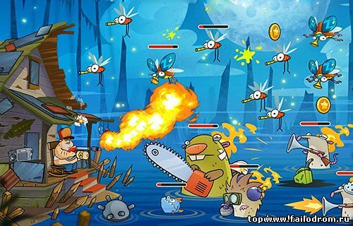 Swamp Attack (android)